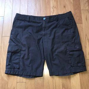 Apt 9 Mens Grey Cargo Shorts size 42